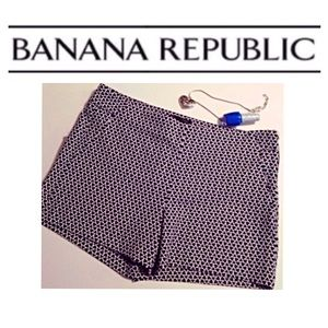 Banana Republic Pants - NWT Banana Republic  Patterned Boy Shorts