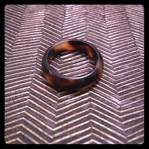 Tortoise shell ring