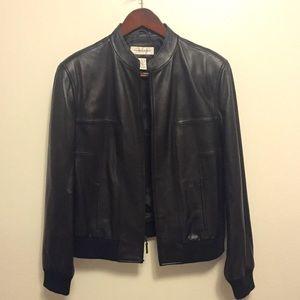Preston & York Jackets & Blazers - LIKE NEW Preston & York Black Lambskin Jacket XL