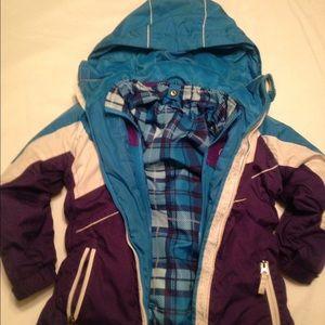 Weatherproof Other - Girls size 7/8 winter coat. Reversible