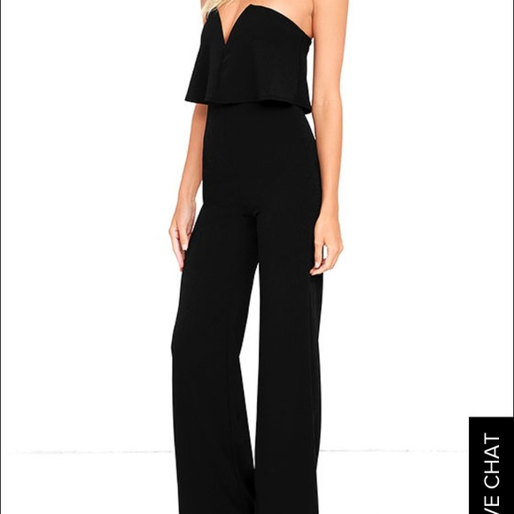 26618811dad0 Lulu's Pants | Lulus Power Of Love Black Jumpsuit | Poshmark