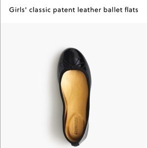 J. Crew Other - Crewcuts Girls Black Patent Leather Ballet Flats