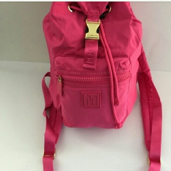 59292a4e15c Pink Tommy Hilfiger girls backpack/ bag. M_589021936d64bc839f035ecc