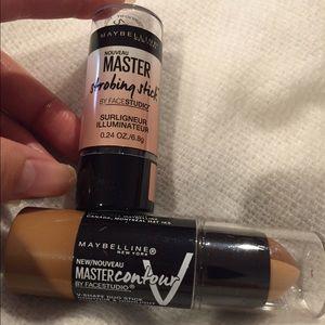 Maybelline bundle master contour/master strobing