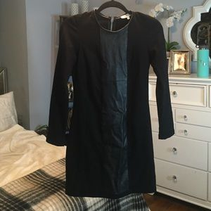 IRO Black Longsleeve Cocktail Dress