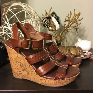 Mossimo cork wedges