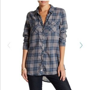 Melrose and Market classic flannel shirt