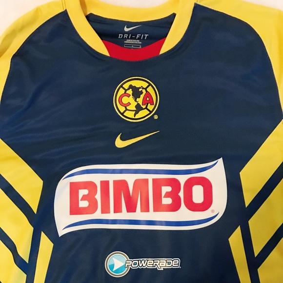 buy popular 9e6d2 7603f Nike : Club America soccer jersey Corona