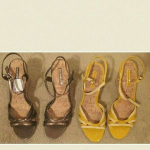 Bandolino Shoes - Bundle of Bandolino Strappy Wedge Sandals! Sz. 10M