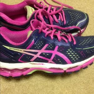 Asics gel kayano 22! Great used running shoe
