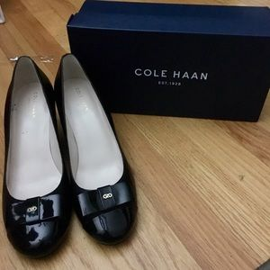 Cole Haan - wedges 7.5 worn once