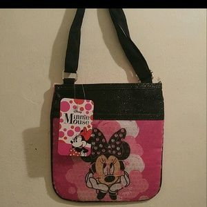 Brand new with tags minnie mouse adjustable purse