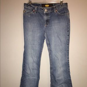 TODD OLDHAM Boot Cut JEANS SZ 7