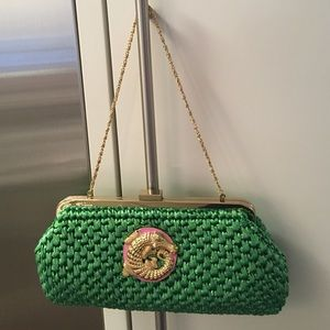 Lilly Pulitzer Handbags - FINAL PRICE‼️NWOT Lilly Pulitzer green straw bag