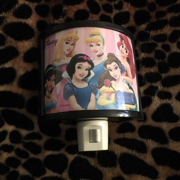 Disney Princess Plug In Night Light