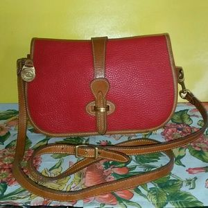 "Dooney & Bourke Handbags - DOONEY & BOURKE VTG""OVER/UNDER BAG"""