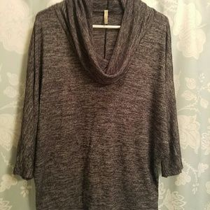 Olivia Moon Sweaters - Cowl neck knit top