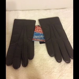 Aris Accessories - Genuine Leather Weather Proof Gloves