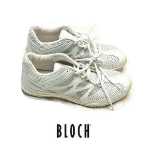 Bloch Shoes - WOMENS BLOCH WHITE DANCE SNEAKERS