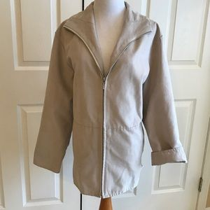 London Fog All Weather Suede Jacket
