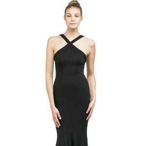 Zac Posen Dresses & Skirts - NWOT ZAC ZAC POSEN BLACK REILLY GOWN SZ 4 S