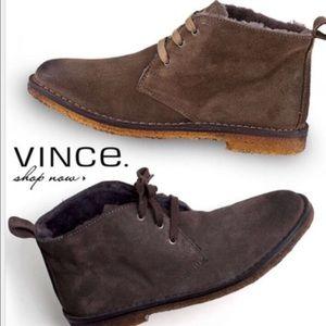 Vince Candice Suede Desert Bootie
