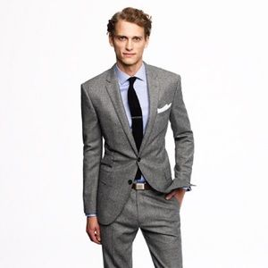 J. Crew Factory Other - J Crew Wool Flannel Suiting Jacket
