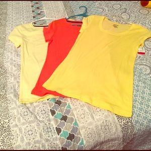 Tops - Three t-shirt