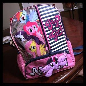 濾My little pony backpack濾
