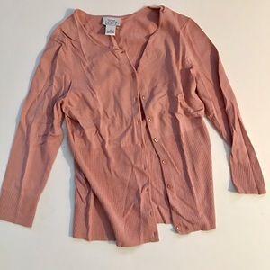 Anne Taylor Loft - pink cardigan  -S