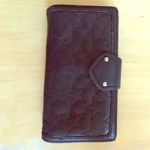 Marc by Marc Jacobs Quilted Star Wallet GUC