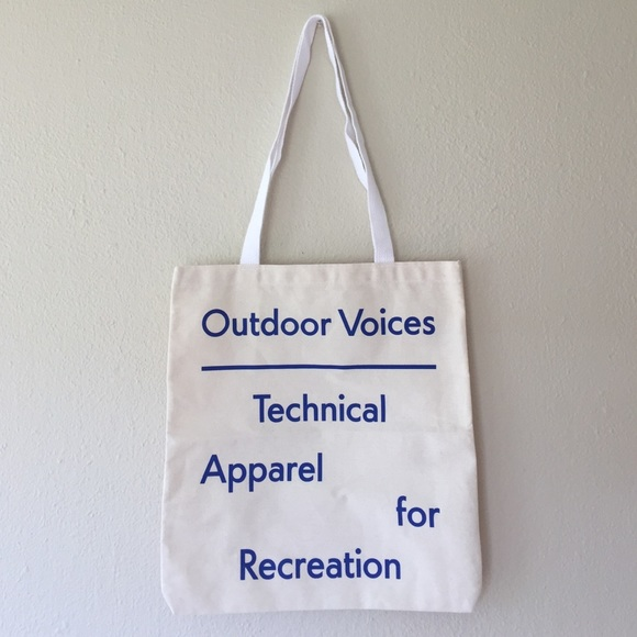 68f099064e Outdoor Voices Tote Bag