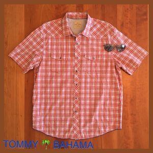Tommy Bahama Other - TOMMY BAHAMA Plaid Short Sleeve Western Cut Shirt
