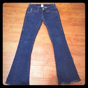 Price Reduced! True Religion Flare Jeans