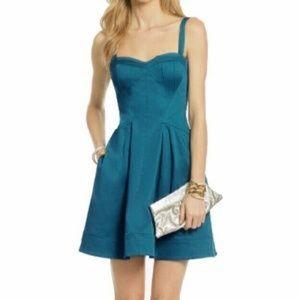 Zac Posen Dresses & Skirts - Zac Posen Teal skater dress
