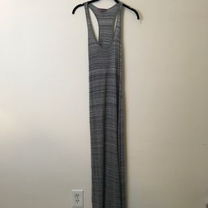Vince Dresses & Skirts - Vince Grey Space Dye Sleeveless Maxi Dress