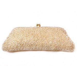 Stephanie Nicole Handbags - Stephanie Nicole Iridescent Beaded Evening Bag