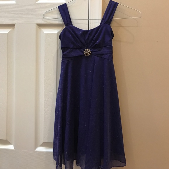 32 Off Other Girls Purple Sparkle Dress Size Small From