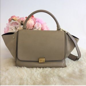 Celine Trapeze in Taupe