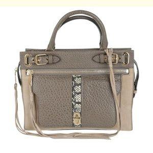 New Rebecca Minkoff Lyon Leather Satchel