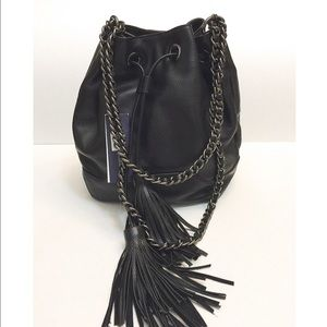 Rebecca Minkoff Handbags - 🆕NWT Rebecca Minkoff black leather bucket bag