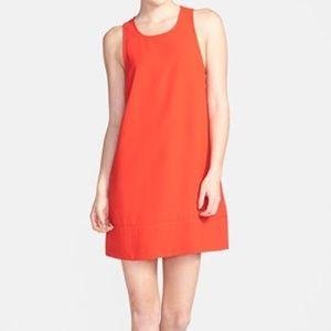 Tildon Dresses & Skirts - Red sleeveless razorback shift dress