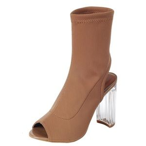 Clearance* Clear the Air Heels - Tan