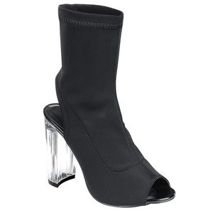 Clear the Air Heels - Black
