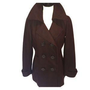 1 Madison Jackets & Blazers - 1 Madison wool Blend Pea Coat