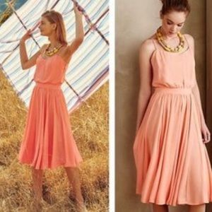 Paper Crown Dresses & Skirts - Paper Crown for Anthropologie Peach Tree Dress