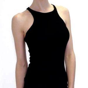 Atid Clothing Tops - Atid Black Signature Recall Tank Top NWT Large
