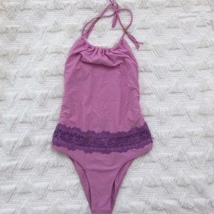 Sabo Skirt Other - Magenta One Piece Bathing Suit