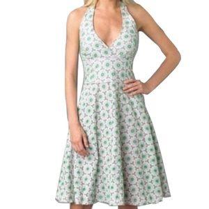 Lilly Pulitzer Dresses & Skirts - Lilly Pulitzer Sz 4 Floral Eyelet Halter Dress EUC