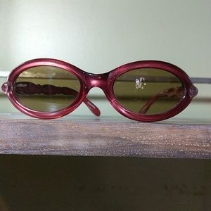 Accessories - Cool Red Retro Looking Sunglasses